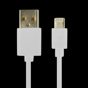 CABLE POWER2GO CONECT LIGHTNING A USB BLANCO PACK5