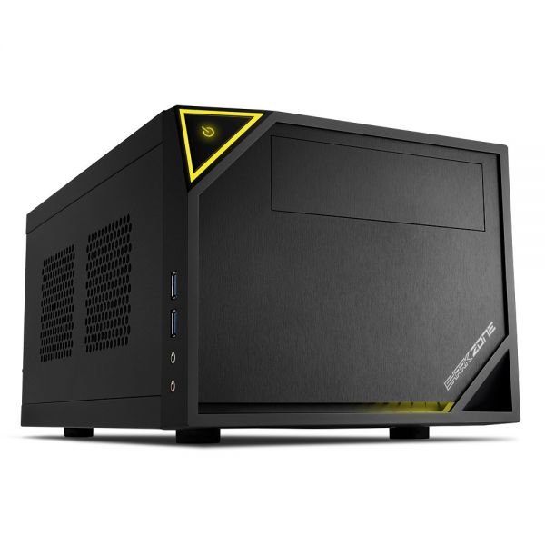 CAJA MINI ITX SHARKOON ZONE C10 2XUSB3.0 NEGRO