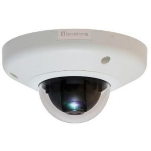 CAMARA IP LEVEL ONE DOMO NO WIFI 3 MEGAPIXEL POE