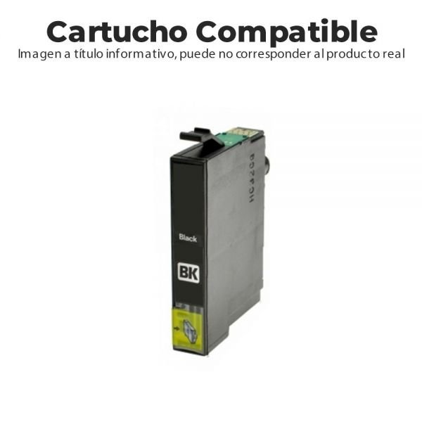 CARTUCHO COMPATIBLE BROTHER LC3213BK 400PG NEGRO