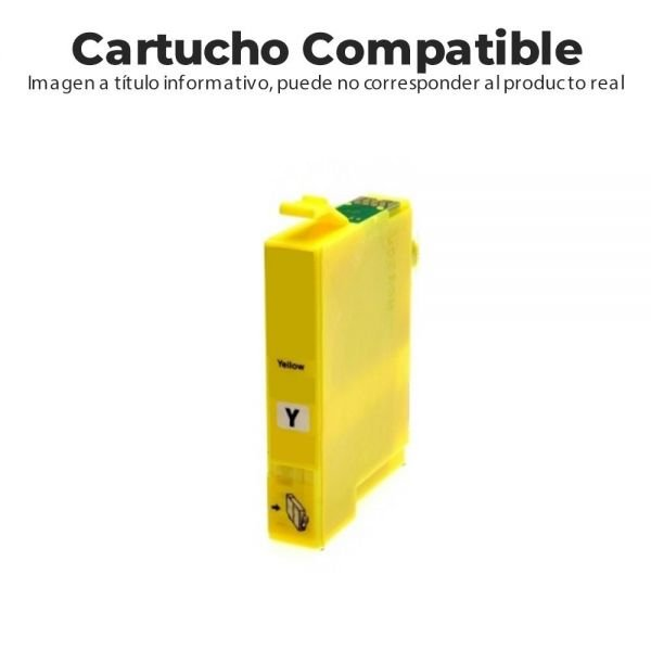 CARTUCHO COMPATIBLE CON BROTHER MFCJ6510/671 AMARILLO