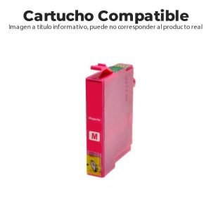 CARTUCHO COMPATIBLE CON CANON CLI-521 MAGENTA MP54