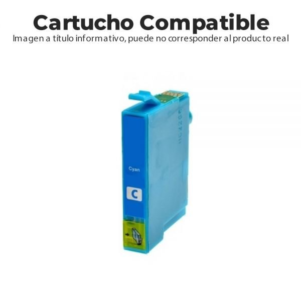 CARTUCHO COMPATIBLE CON EPSON XL18 CIAN  XP102/2