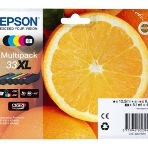 CARTUCHO  EPSON 33XL MULTIPACK 5 XP-530/XP630/XP63