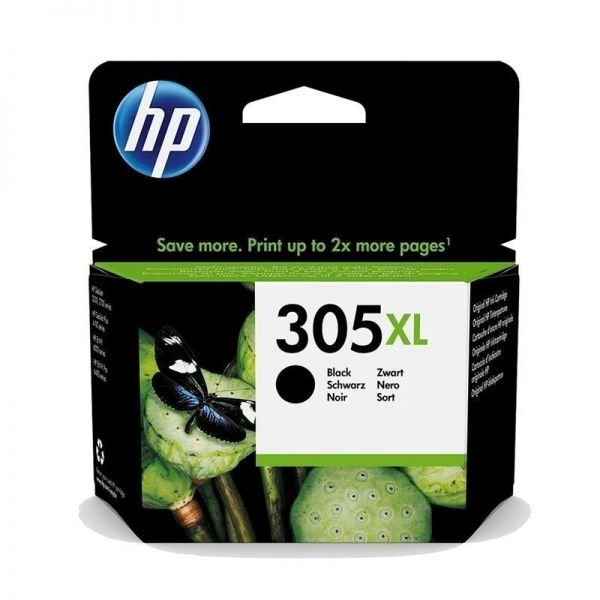 CARTUCHO HP 305XL NEGRO  3YM62AE