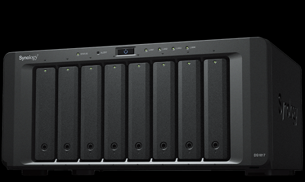NAS SYNOLOGY 0TB 8 BAY DS1817