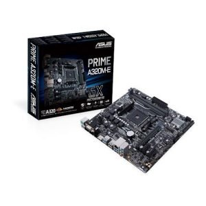 PLACA BASE AM4 ASUS A320M-E MATX/USB 3.1/HDMI/VGA/DVI