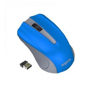 RATON APPROX WIRELESS APPWMLITEB GRIS/AZUL