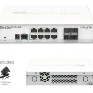 ROUTER MIKROTIK CLOUD CRS112-8G-4S-IN