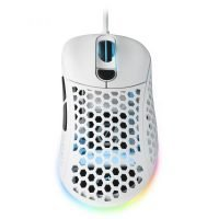 RATON SHARKOON LIGH2 200 BLANCO RGB