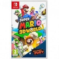 JUEGO NINTENDO SWITCH SUPER MARIO 3D WORLD + BROWS