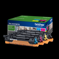 TONER BROTHER TN243 KIT 4 COLORES 1000PG