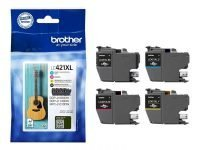CARTUCHO BROTHER LC421XL MULTIPACK 4  500PAG