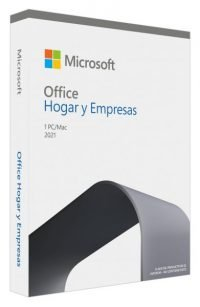 MICROSOFT OFFICE HOME & BUSINESS 1PC 2021